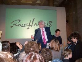 Rolf Harris at Cardiff Museum by supersmeg123