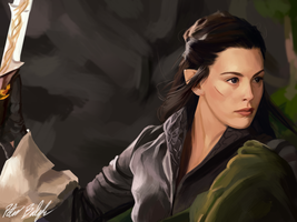 Arwen by PeterPrime