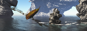 Flying craft by biotechbob