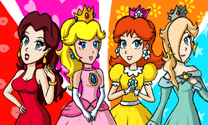 The Mario Girls by albertojz356