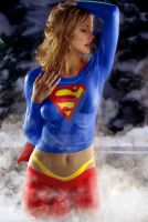Steamy Supergirl by Jaja316
