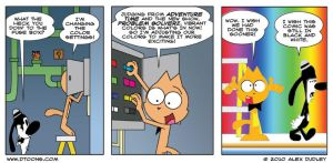 Conroy Cat on Problem Solverz by Doodley
