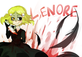 Lenore redraw by Hero-Of-Ink