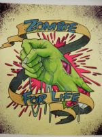 Zombie fist by Agreus