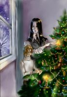 Christmas by Helesss