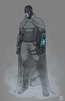 Gray Ghost Redesign commission by phil-cho