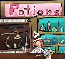 Potions for Vip's by Neruvous