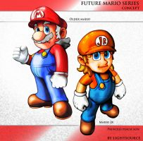 Future Mario concepts by xXLightsourceXx
