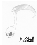 Musiskull sketch -Official by AncientSun1219