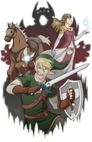 The Legend of Zelda by DeanGrayson