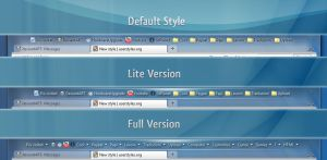 Bookmarks Toolbar - Stylish by Steel89