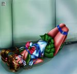 Sailor Jupiter Bound And Gagged - 2014 by sleepy-comics
