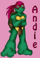 The next generation-- Andie by StegeKay