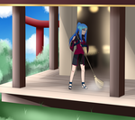Mission 2: Help clean in the Shrine of Hope by Gaarasninjagirl
