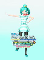 DOWLOAND PDA-FT Hatsune miku tricolor airline by johnjan11
