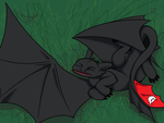 Sleeping Toothless by ZionAngel