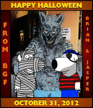 Brian and BGF's Halloween 5 by BrianGriffinFan