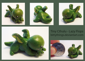 Tiny Cthulu - Lazy Flops - SOLD by Bittythings