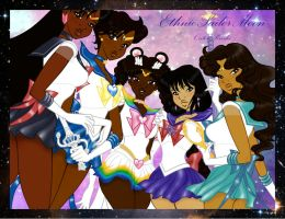 Ethnic Sailor Moon - Outer Senshi Wallpaper 1 by guillmon9005