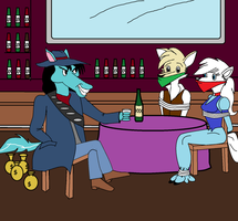 Western Saloon by Walnutwilly