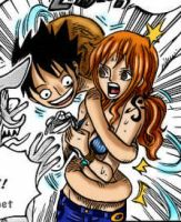 Rufy Nami spoiler by Ellychan88