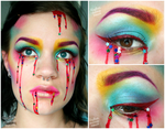 Bleeding Rainbow by MakeupMouse