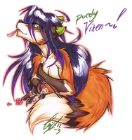 Vixens new coat! by carnival