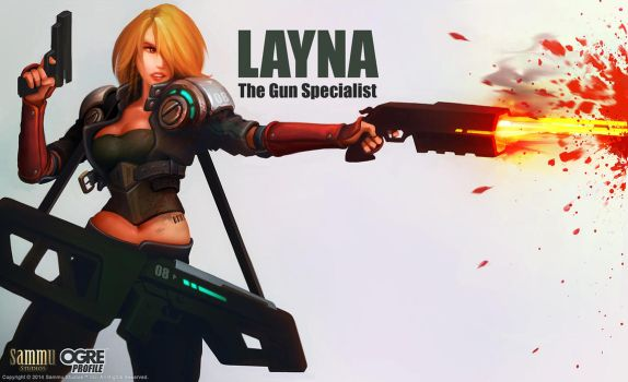 OGRE Profile: Layna by cg-sammu