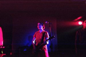 Kathleen Hanna of Le Tigre by lupercal