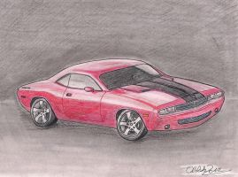 Dodge Challenger by RoxyCloud