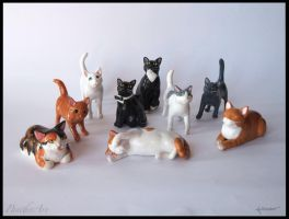 :.Cute cats collection.: by XPantherArtX