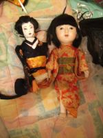japanese dolls by curlytopsan