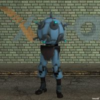 XNA Robot Sentry Buster by X-N-A