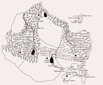 Map of the dragon realms by RubyDragonCat