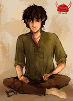 Sitting Hiccup by Dreamsoffools
