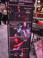 Namm 2001, Live appearences sign by cmoyl