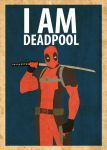 Deadpool Poster by Procastinating