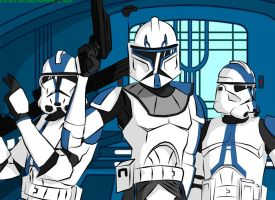 Welcome to the 501st by Dan-Fortesque
