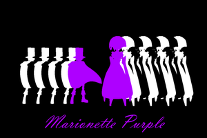 Marionette Purple by One-Mister-Badguy