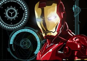 Iron Man by Adder24