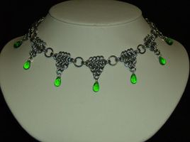 Green Celtic Chainmail by specialmajick