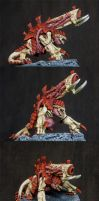 Tyranid Pyrovore by Vanxee
