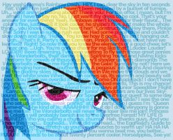 Rainbow Dash quotes by Rinsowaty