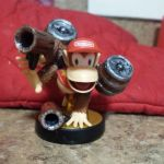 Diddy Kong Amiibo Customization by PiroDragon