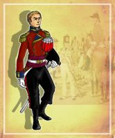 Bannon, Coldstream Guards by SimonLMoore