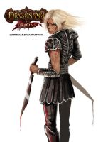 Zevran_black_raw by LuciferaCat