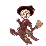 [Pixel] Witch Mercy by thelichwitch