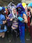 Syndra and Malzahar cosplay at Anime Central 2014 by LaetNotroh