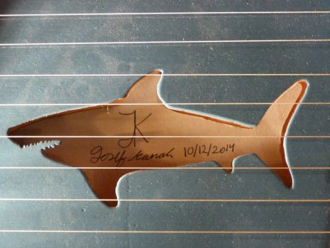 Shark Zither by Paper--Kite