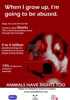 Animal Cruelty Poster 1 by Rob93z20